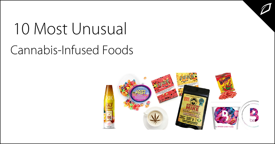 10 Most Unusual Cannabis Infused Foods