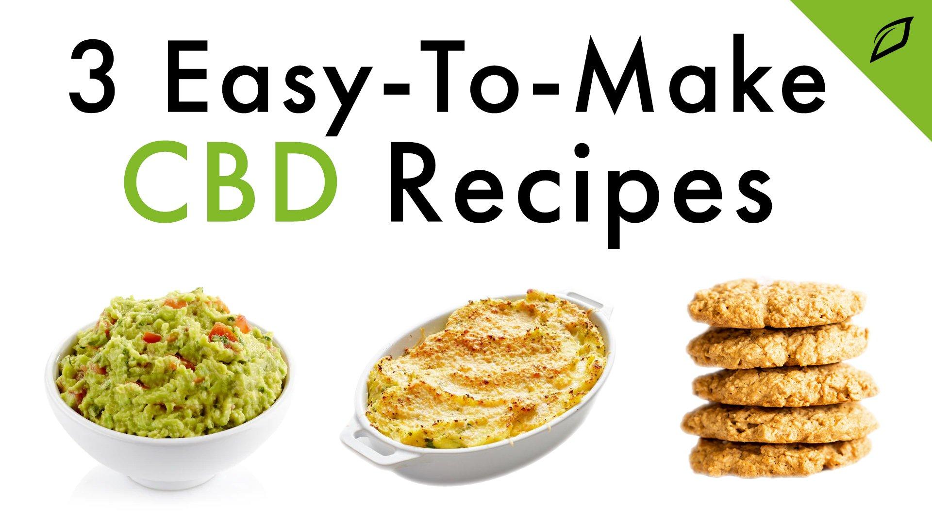 3 CBD Recipes Blog 16x9