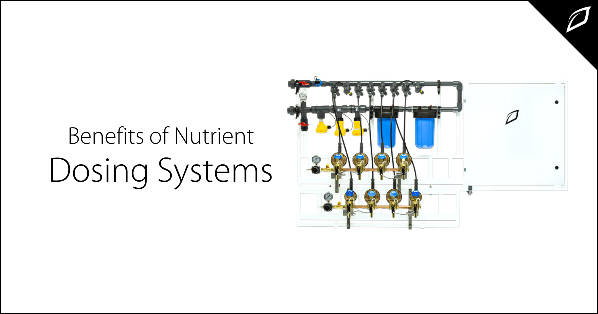 Benefits of Nutrient Dosing Systems