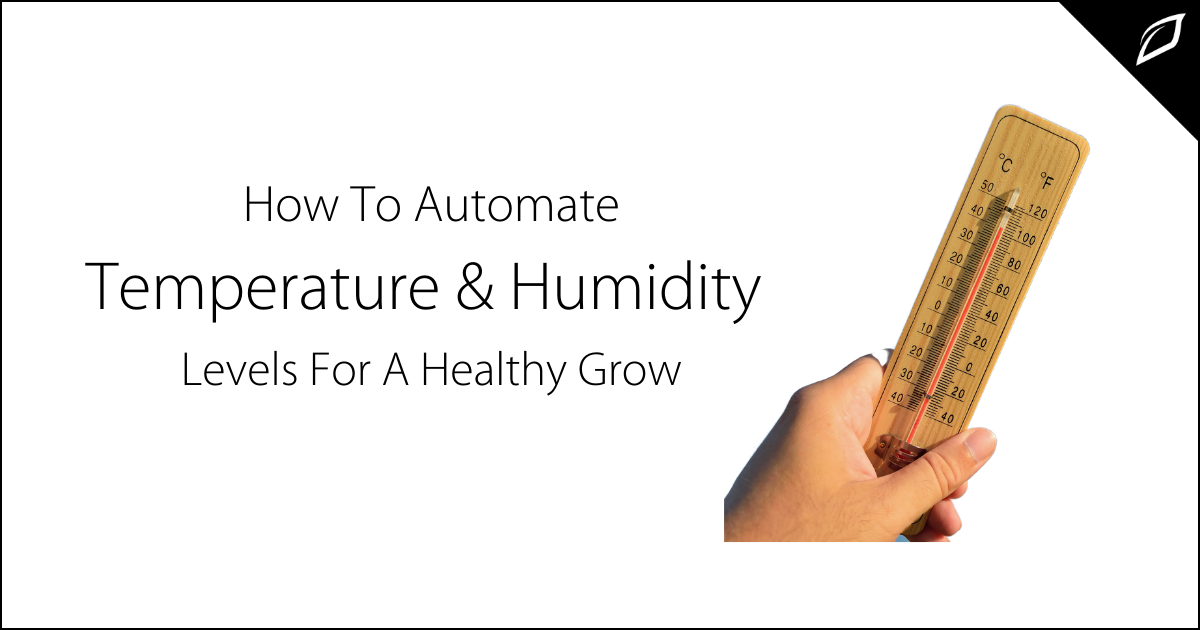 How To Automate Temperature and Humidity Levels for a Healthy Grow