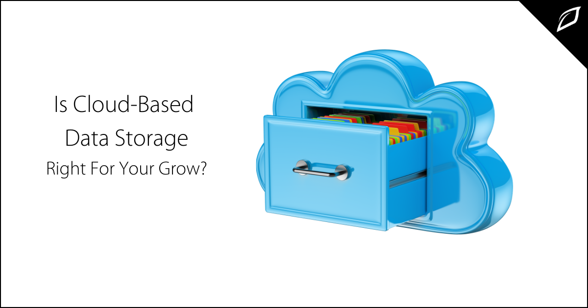 Is Cloud Based Data Storage Right For Your Grow_