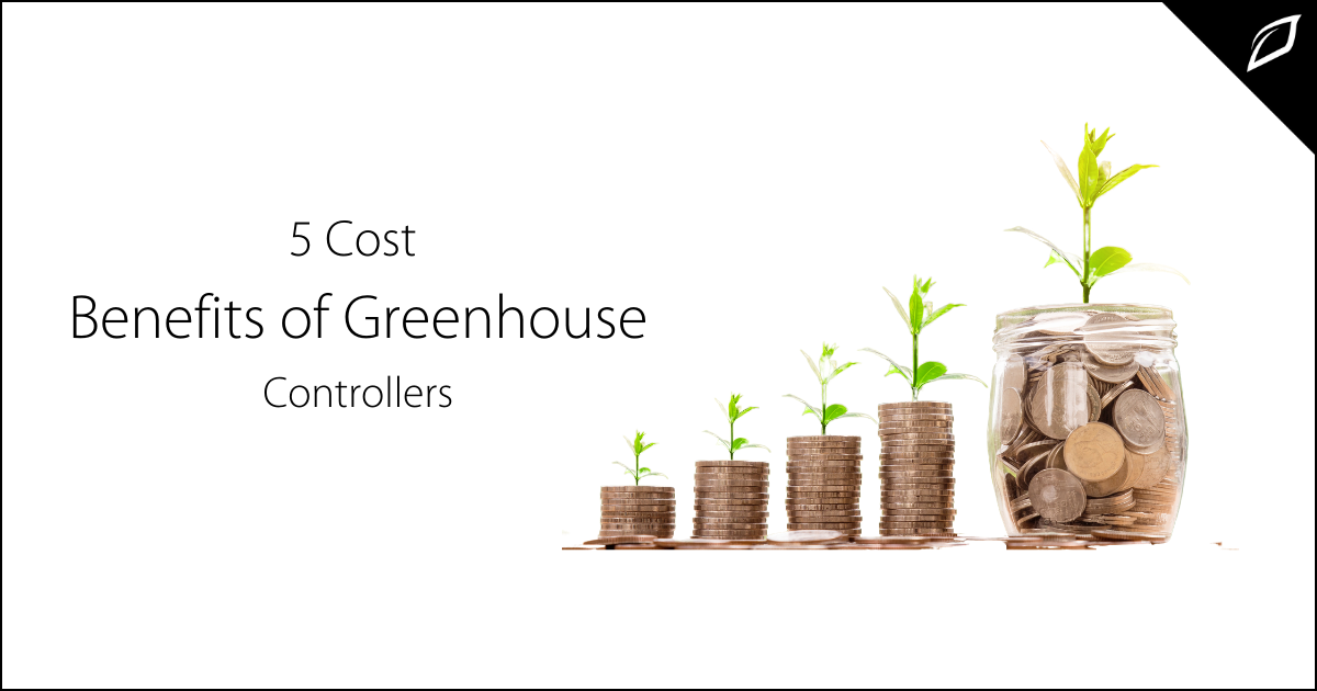 Commerical greenhoue controllers